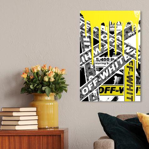 Not Art But Yellow OFF Art