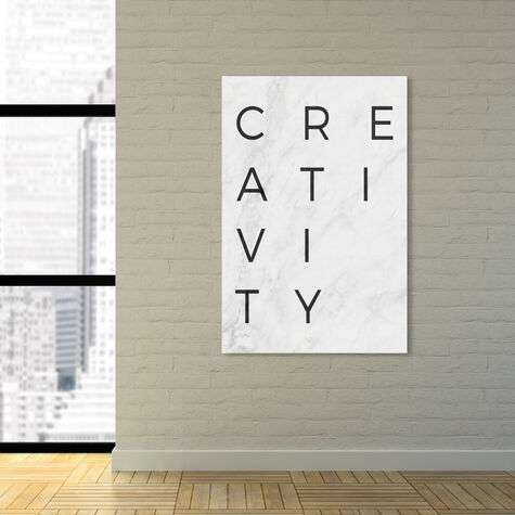 Creativity Minimalist Marble Paper