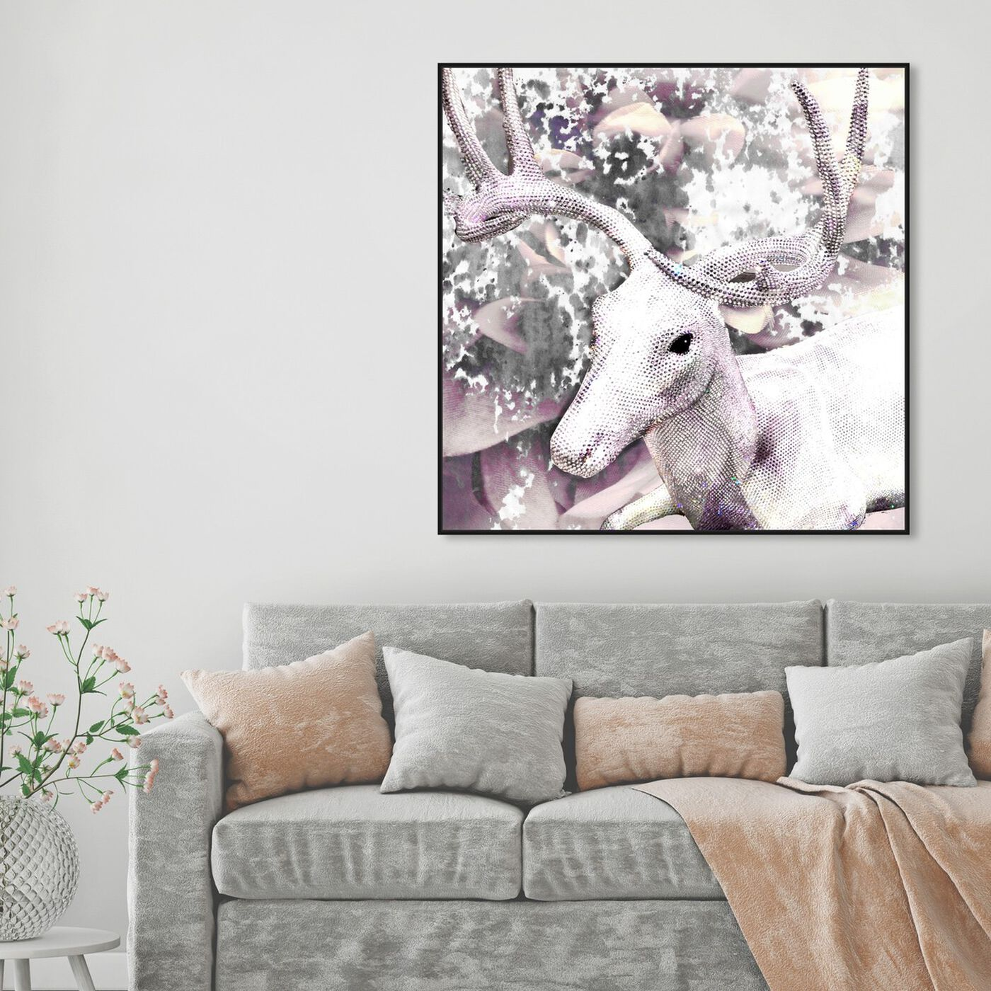 Hanging view of Marvelous Creature featuring animals and zoo and wild animals art.