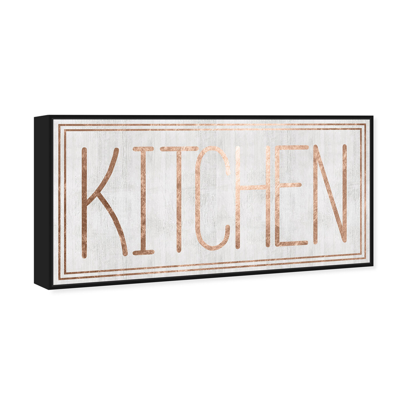 Angled view of Kitchen featuring food and cuisine and kitchen art.