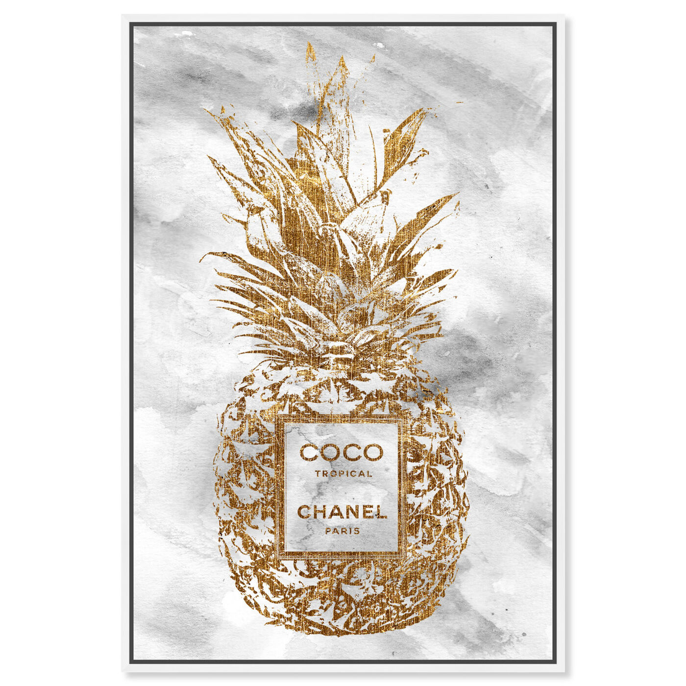 Front view of Coco Tropical featuring fashion and glam and fashion lifestyle art.