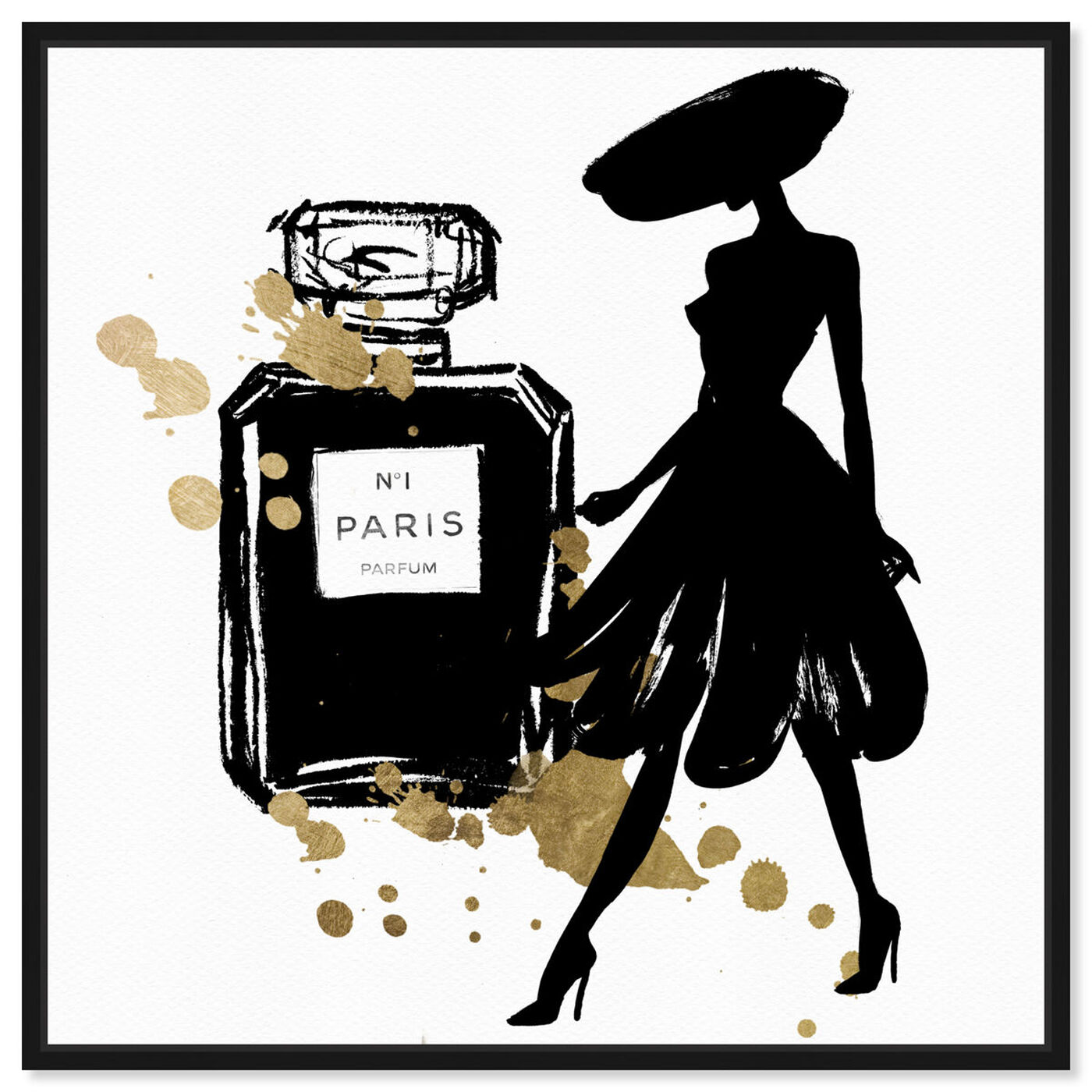 Front view of Mas Pasarela Paris featuring fashion and glam and perfumes art.