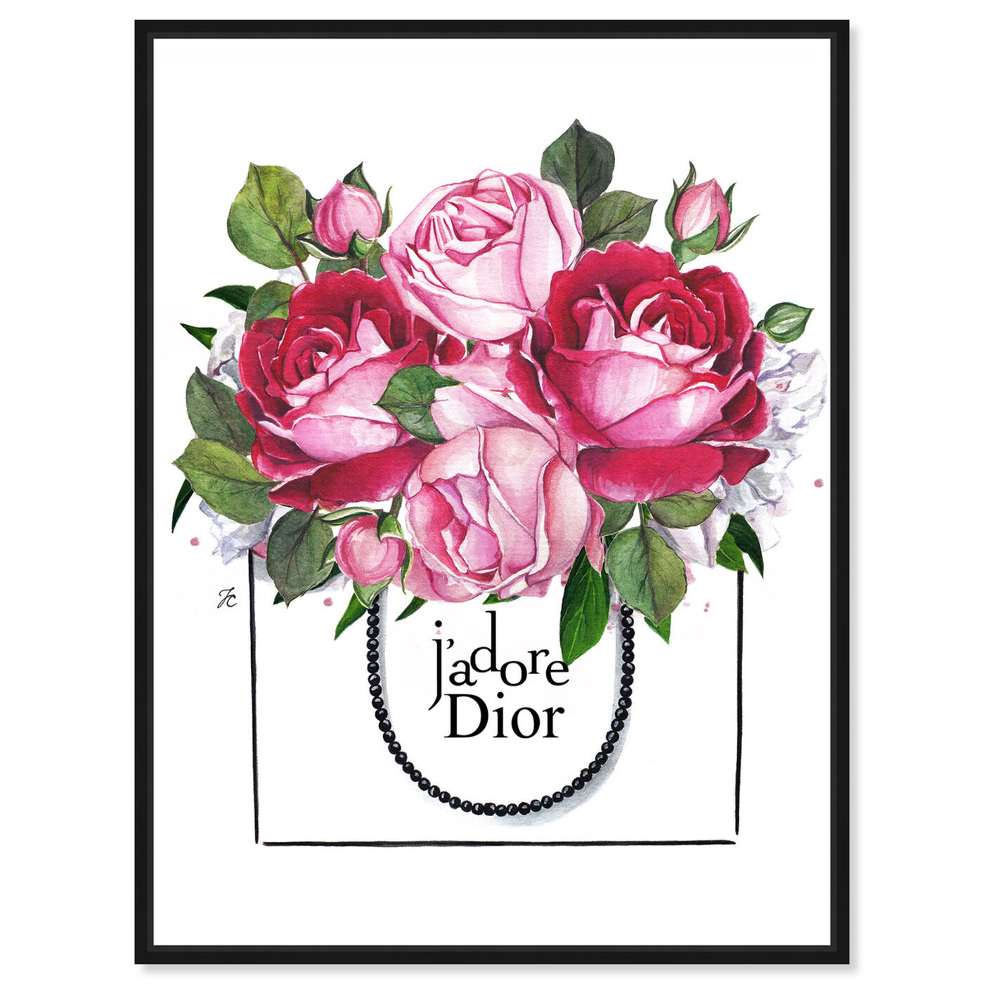 Front view of Doll Memories - Peonies I featuring floral and botanical and florals art.