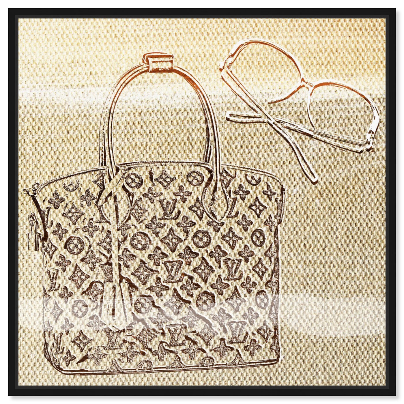 Front view of Musts featuring fashion and glam and handbags art.