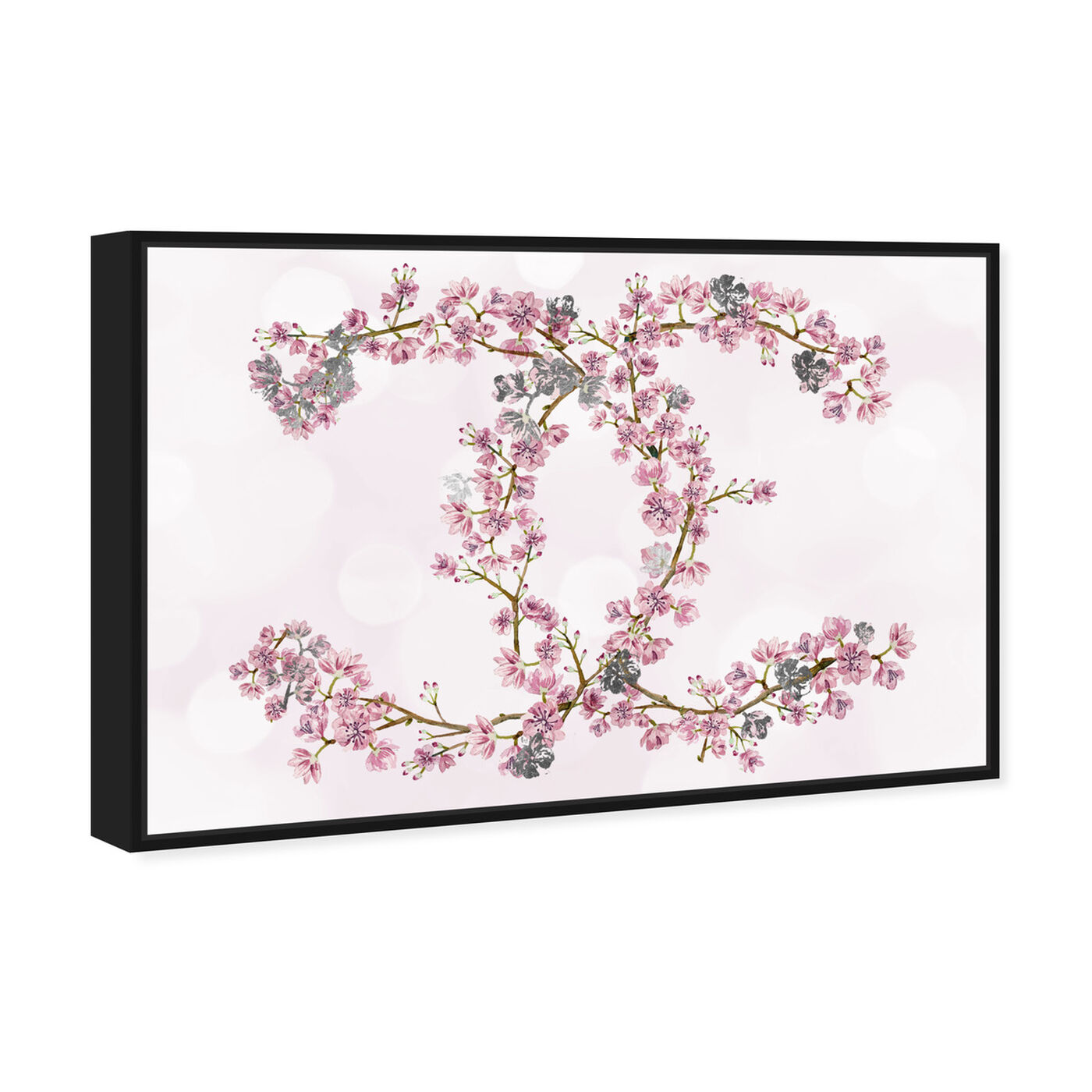 Angled view of Sakura Love Silver featuring fashion and glam and fashion art.