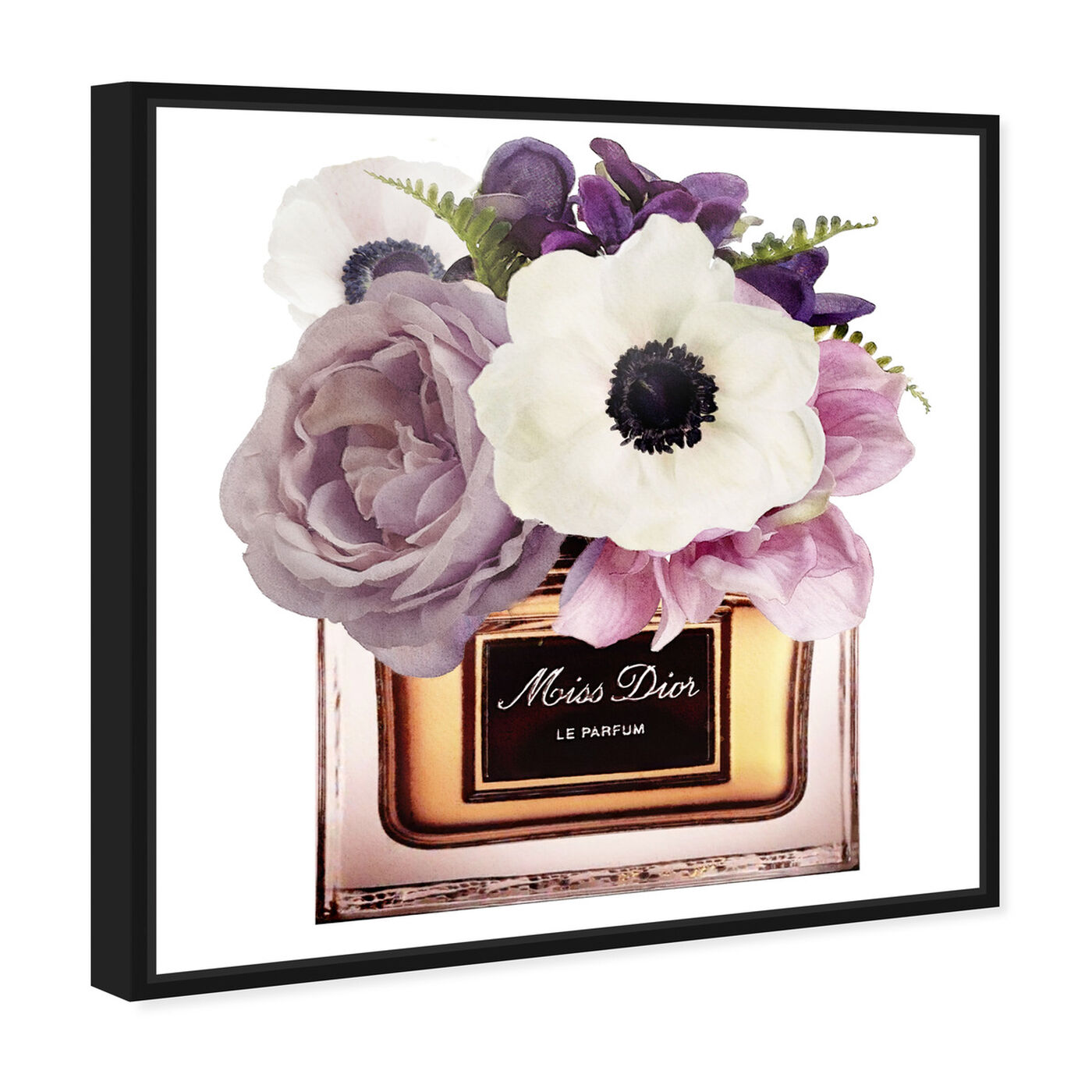 Angled view of Night Anemone Perfume featuring fashion and glam and perfumes art.