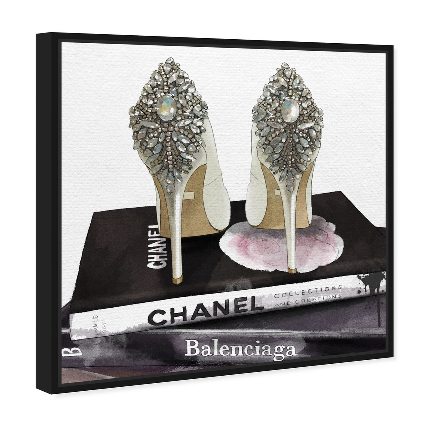 Angled view of My Trophies featuring fashion and glam and shoes art.