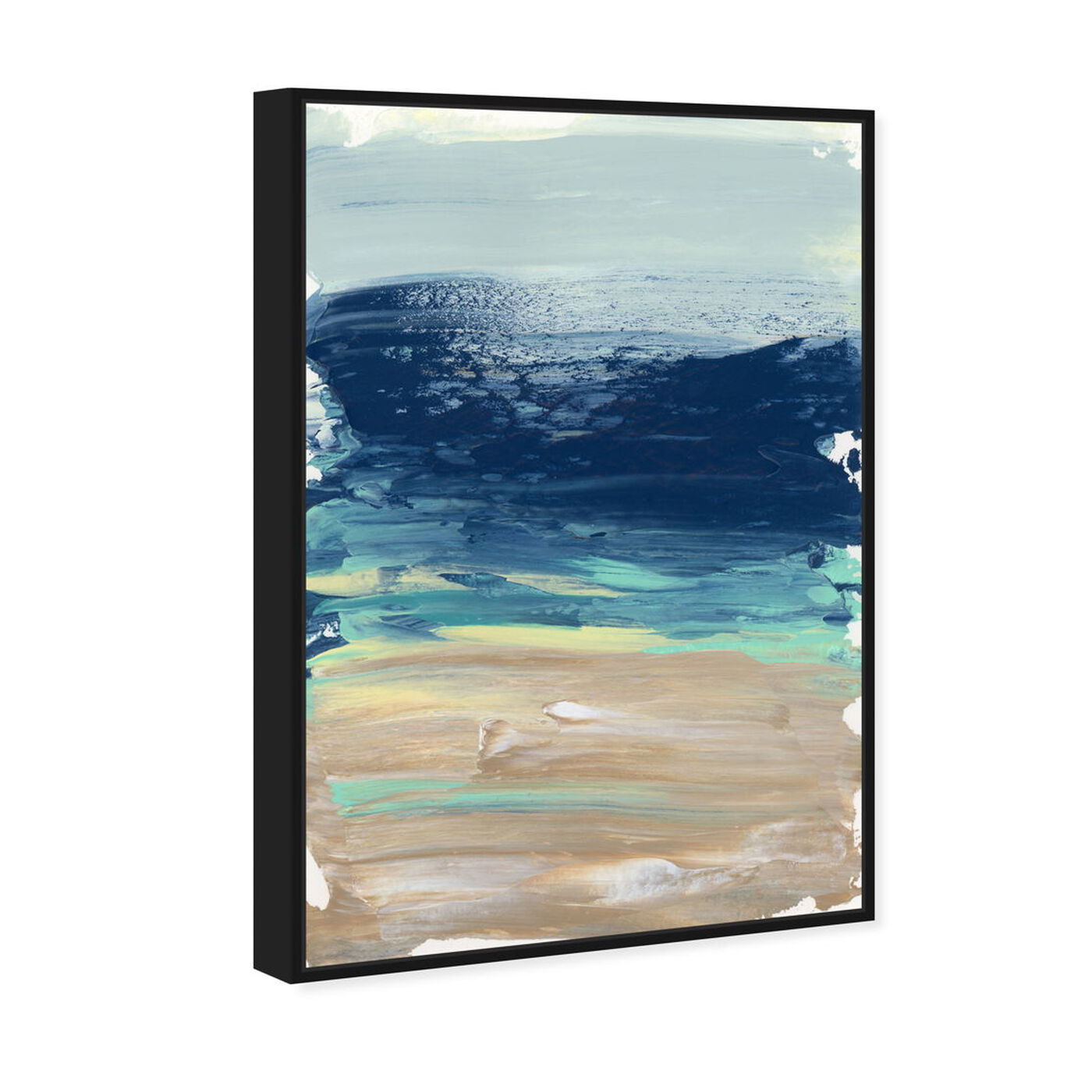 Angled view of Into The Sea featuring abstract and paint art.