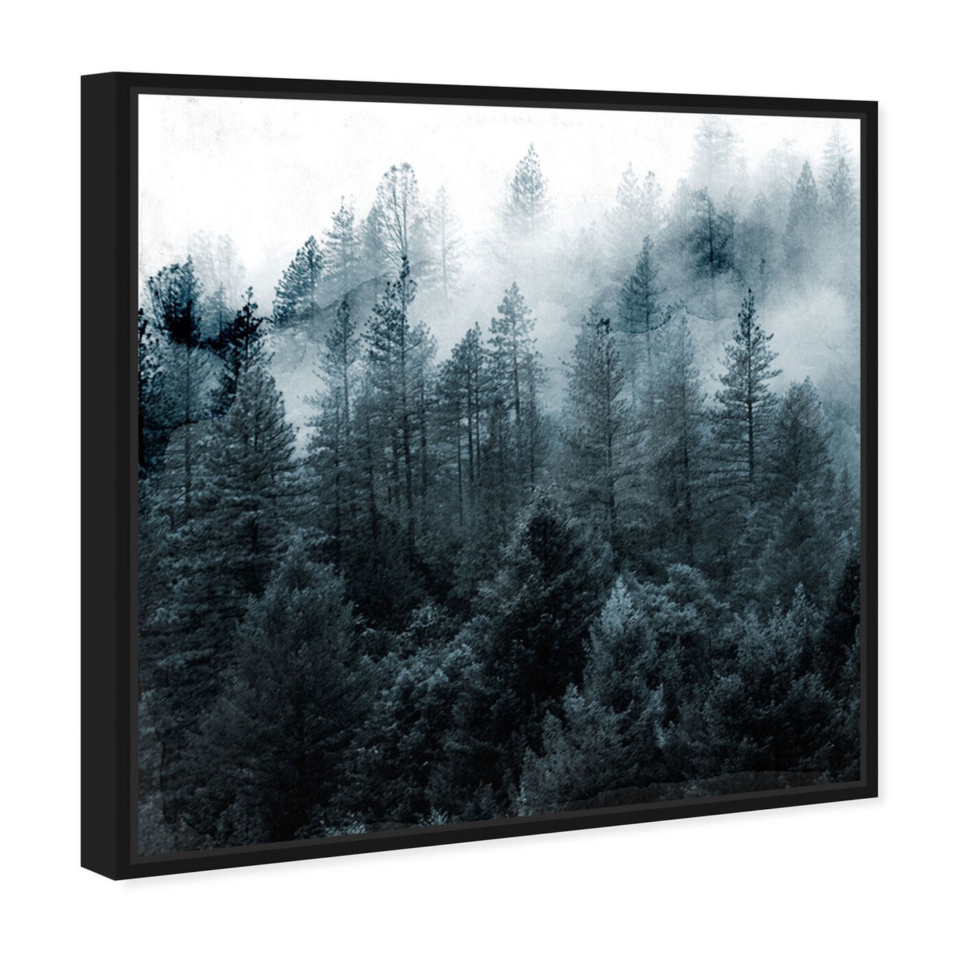 Angled view of Over The Pine featuring nature and landscape and forest landscapes art.
