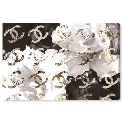 Original Gold Camellia Distressed