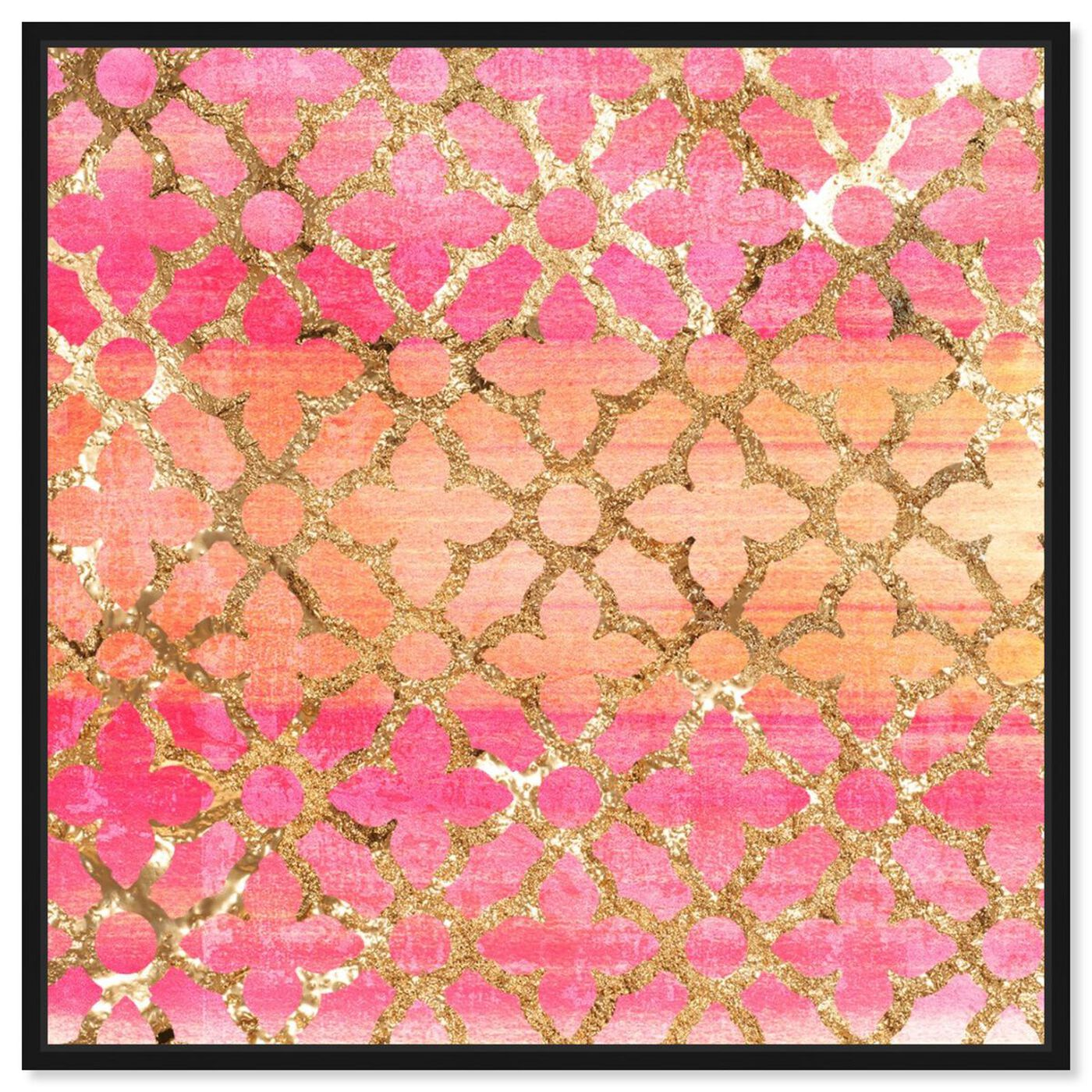 Front view of Pretty Arabesque featuring abstract and patterns art.