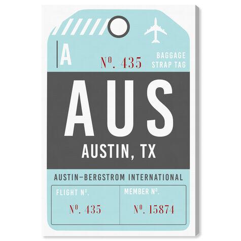 Austin Luggage Tag