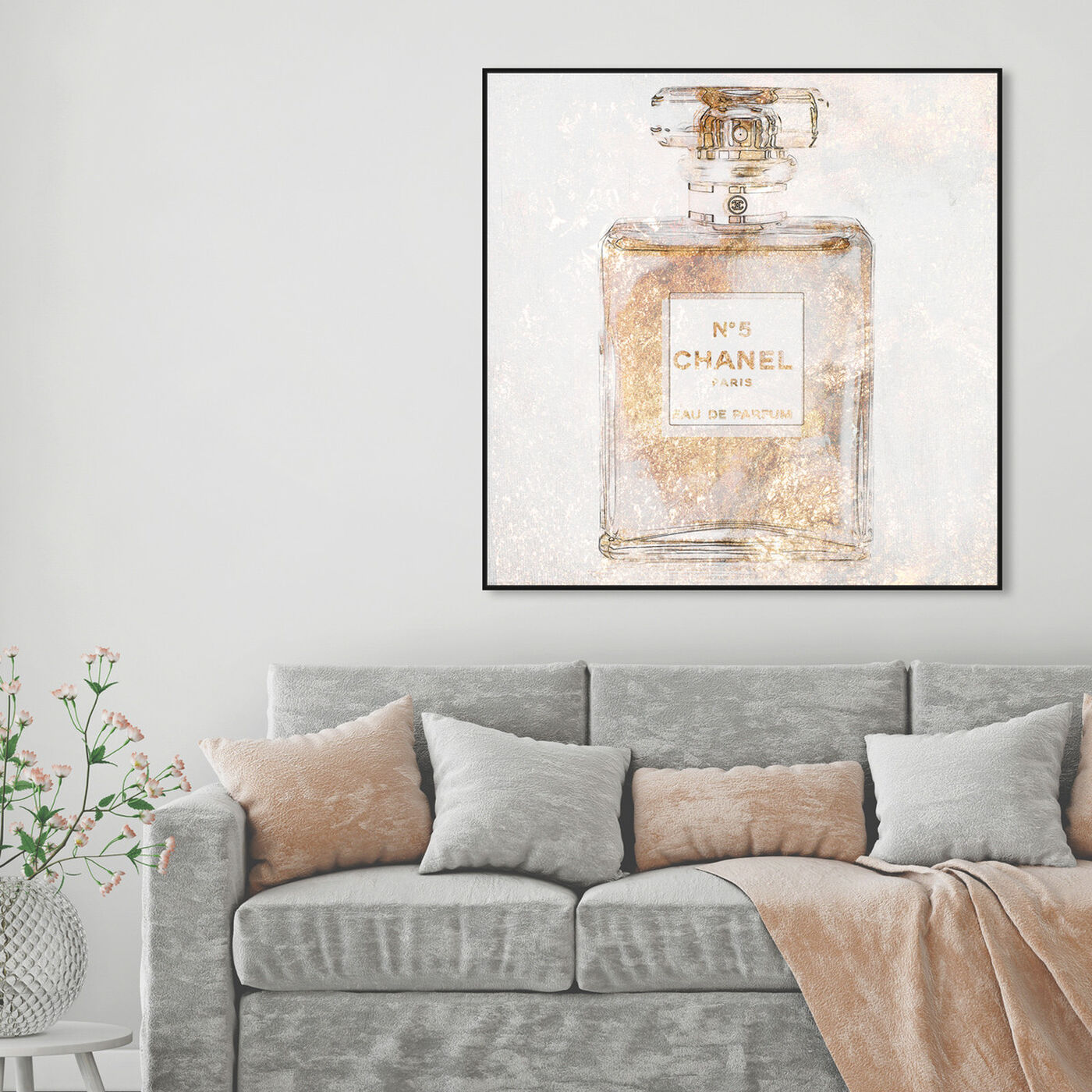 Hanging view of Parfum Glimmer featuring fashion and glam and perfumes art.