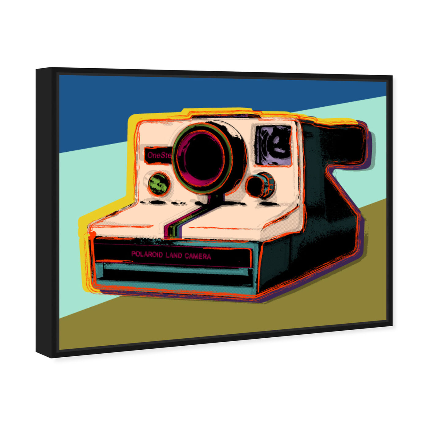 Angled view of Polaroid Visions featuring entertainment and hobbies and photography art.