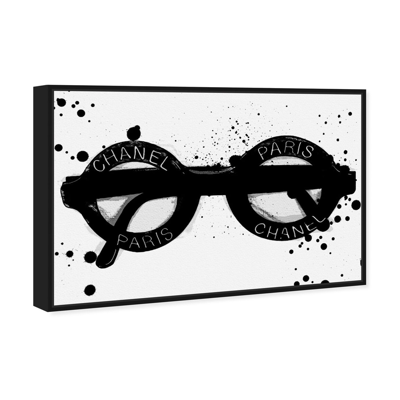 Angled view of Fashionable Eyes featuring fashion and glam and accessories art.