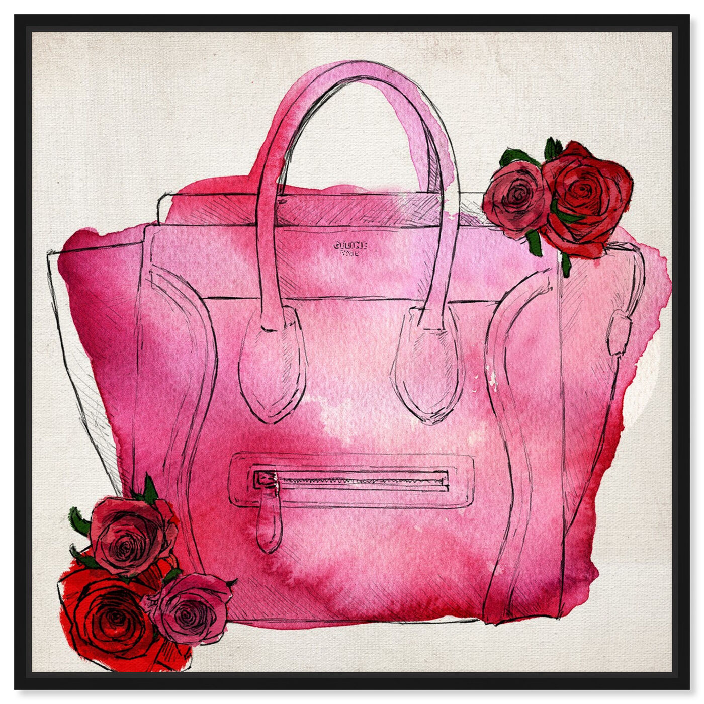 Front view of Spoil Me Please! featuring fashion and glam and handbags art.