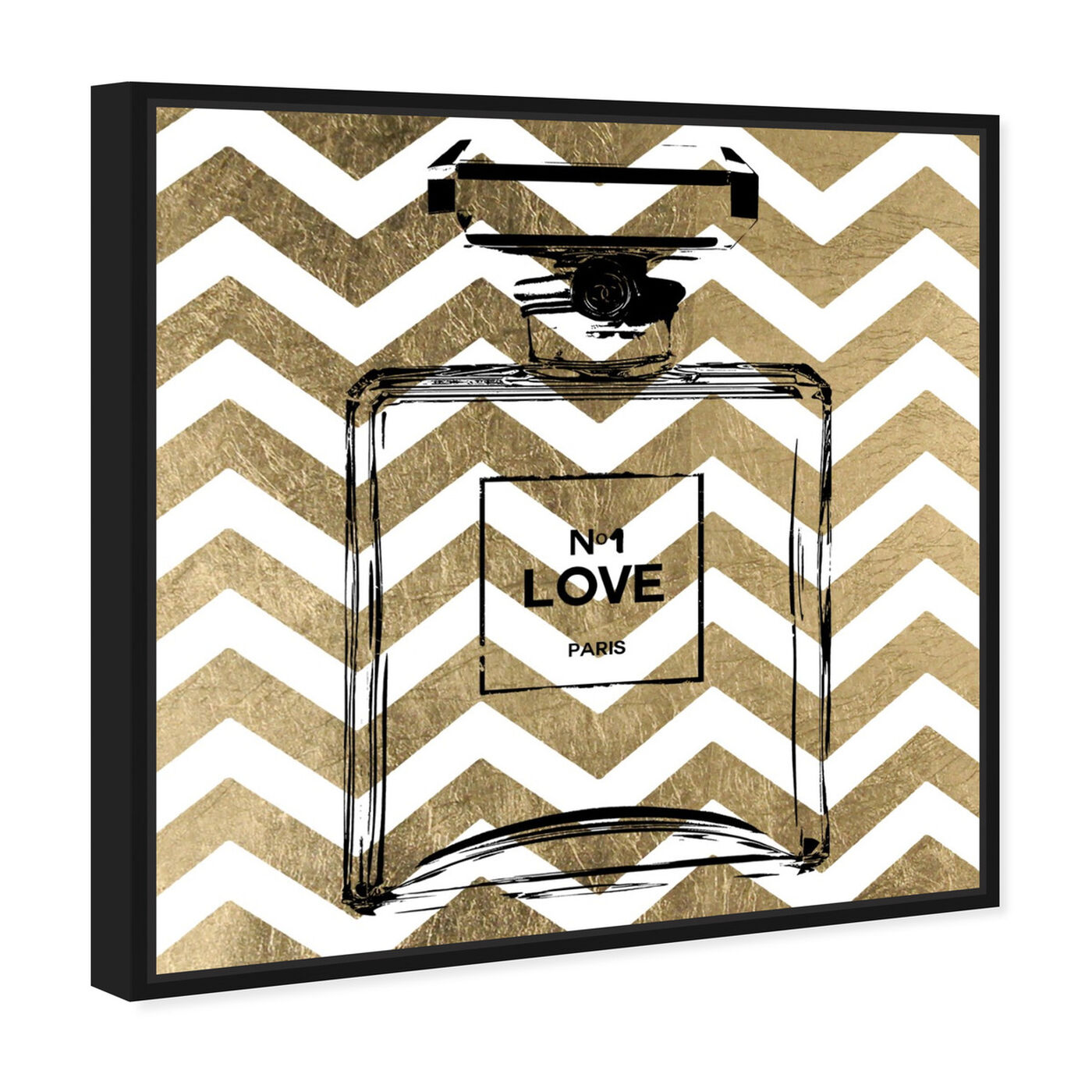 Angled view of Perfume featuring fashion and glam and perfumes art.
