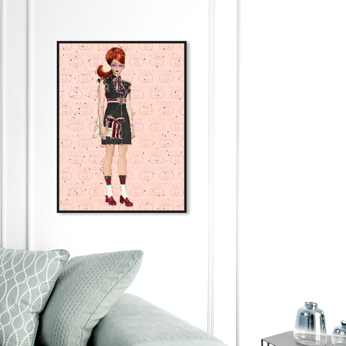 Hanging view of She's All That featuring fashion and glam and dolls art.