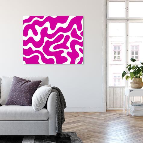 Corey Paige - Pink Abstract II