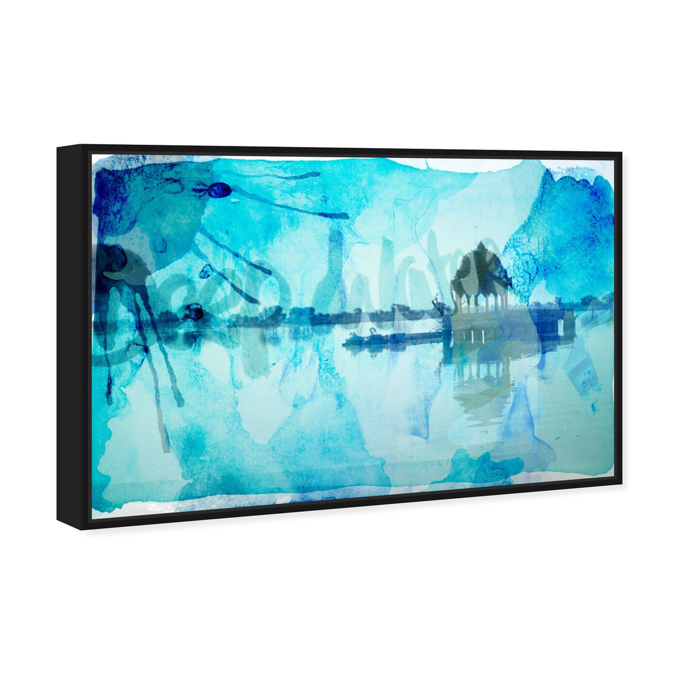 Angled view of Deep Water featuring nature and landscape and nature art.