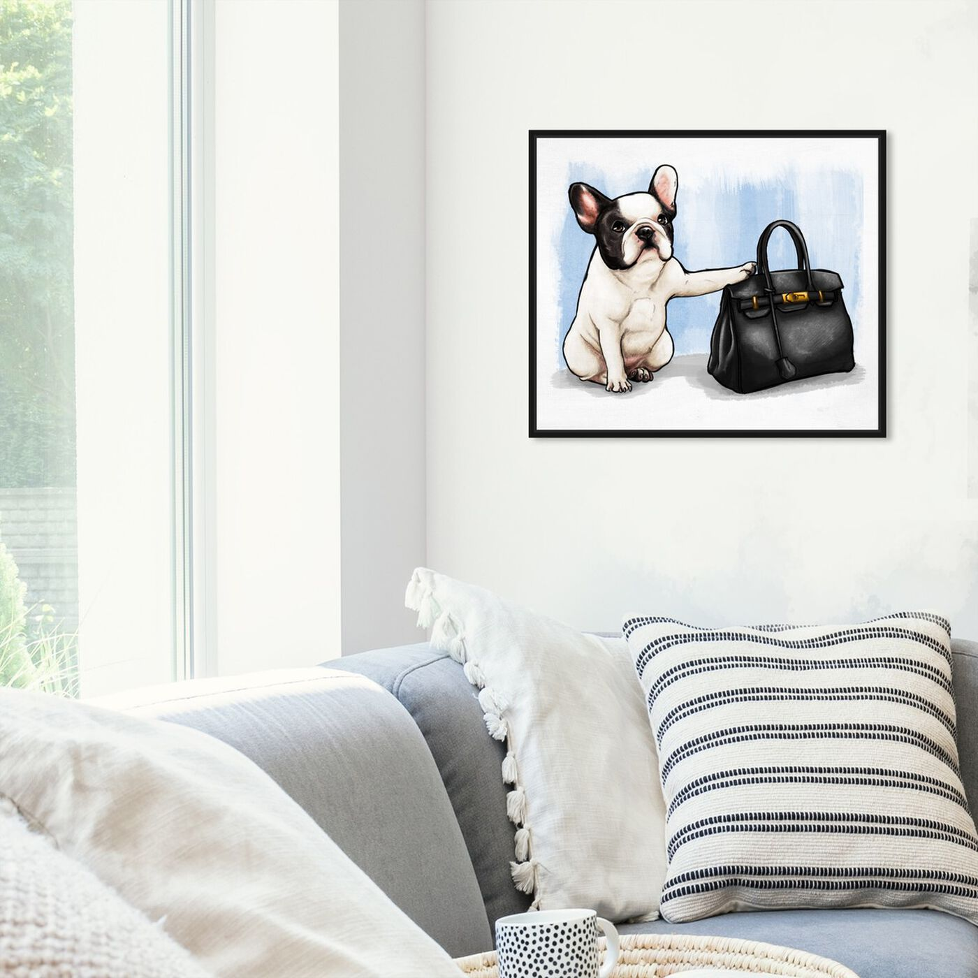 Hanging view of The Clear Choice featuring fashion and glam and handbags art.
