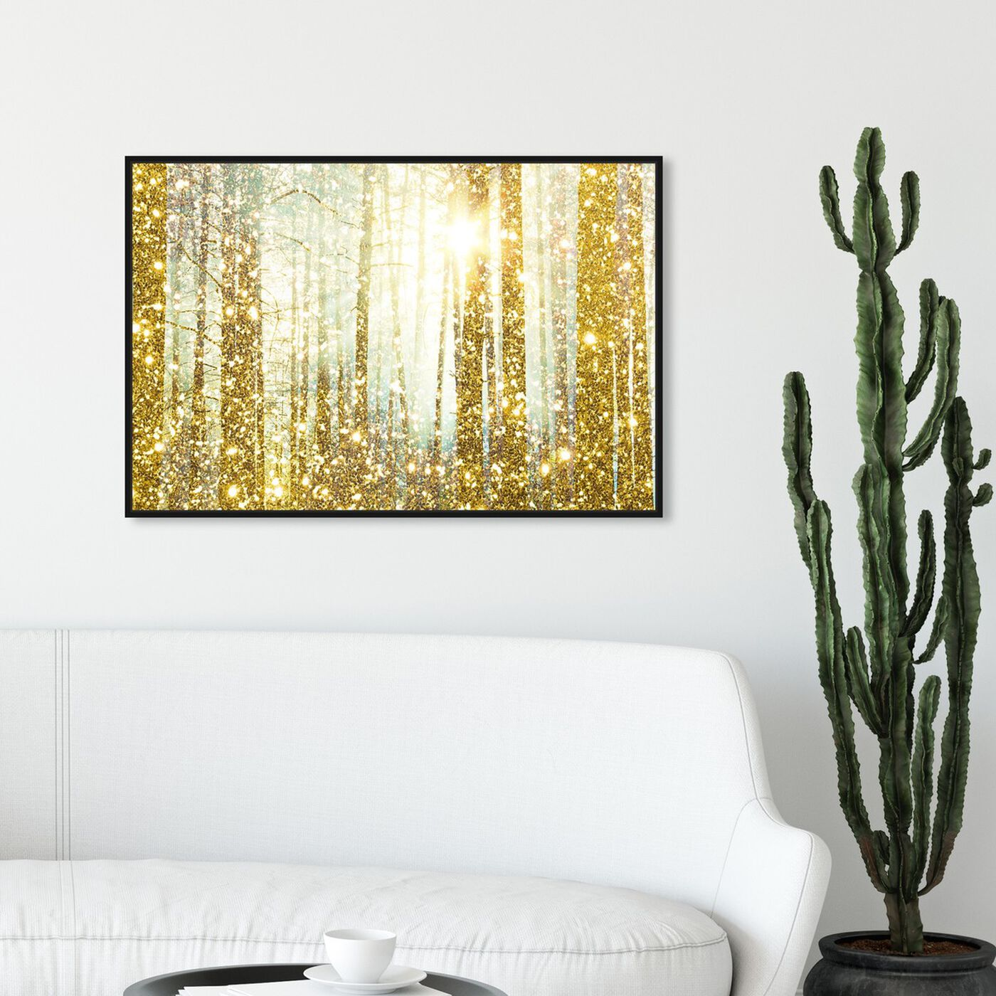 Hanging view of Magical Forest  featuring nature and landscape and forest landscapes art.