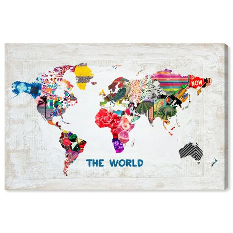 Hipster Mapa Mundi