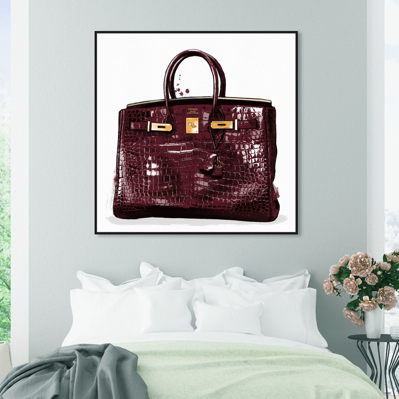 Hanging view of Garnet Beauty featuring fashion and glam and handbags art.
