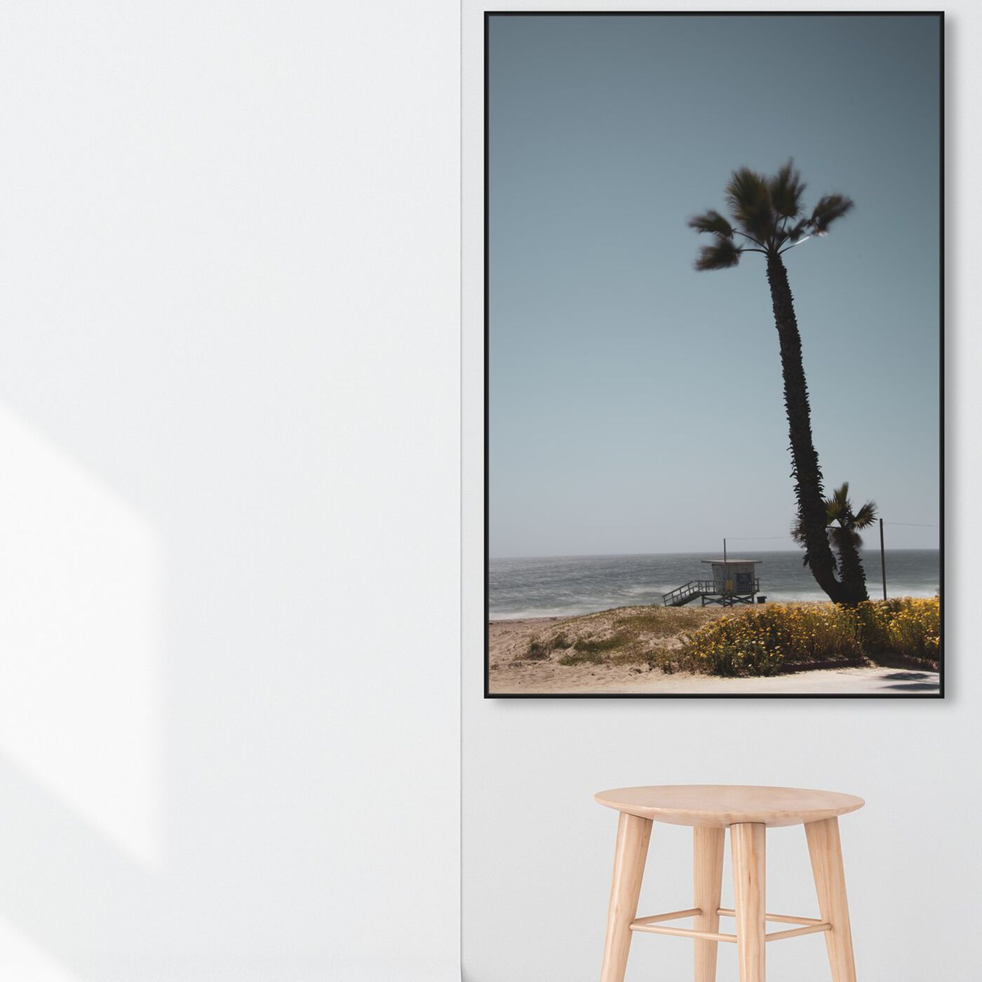 Hanging view of Curro Cardenal - Desert Beach Blues featuring nautical and coastal and coastal art.