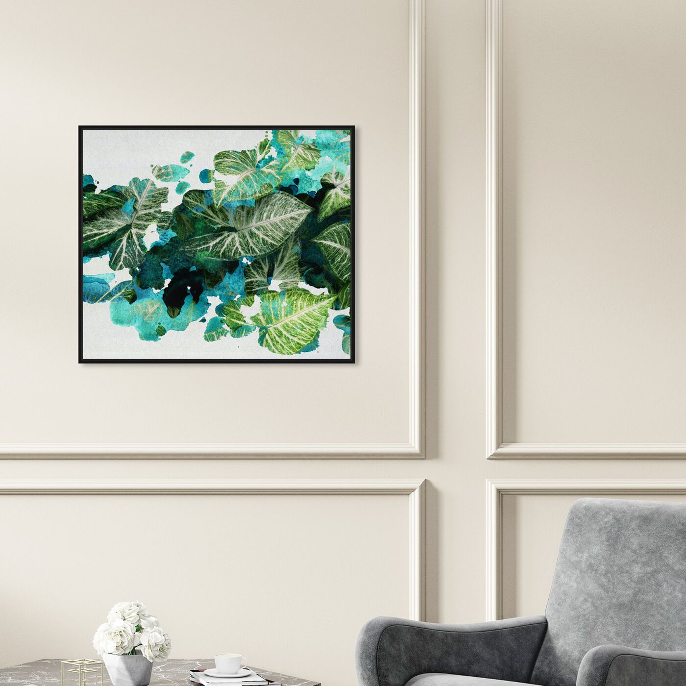 Hanging view of Natura featuring floral and botanical and botanicals art.