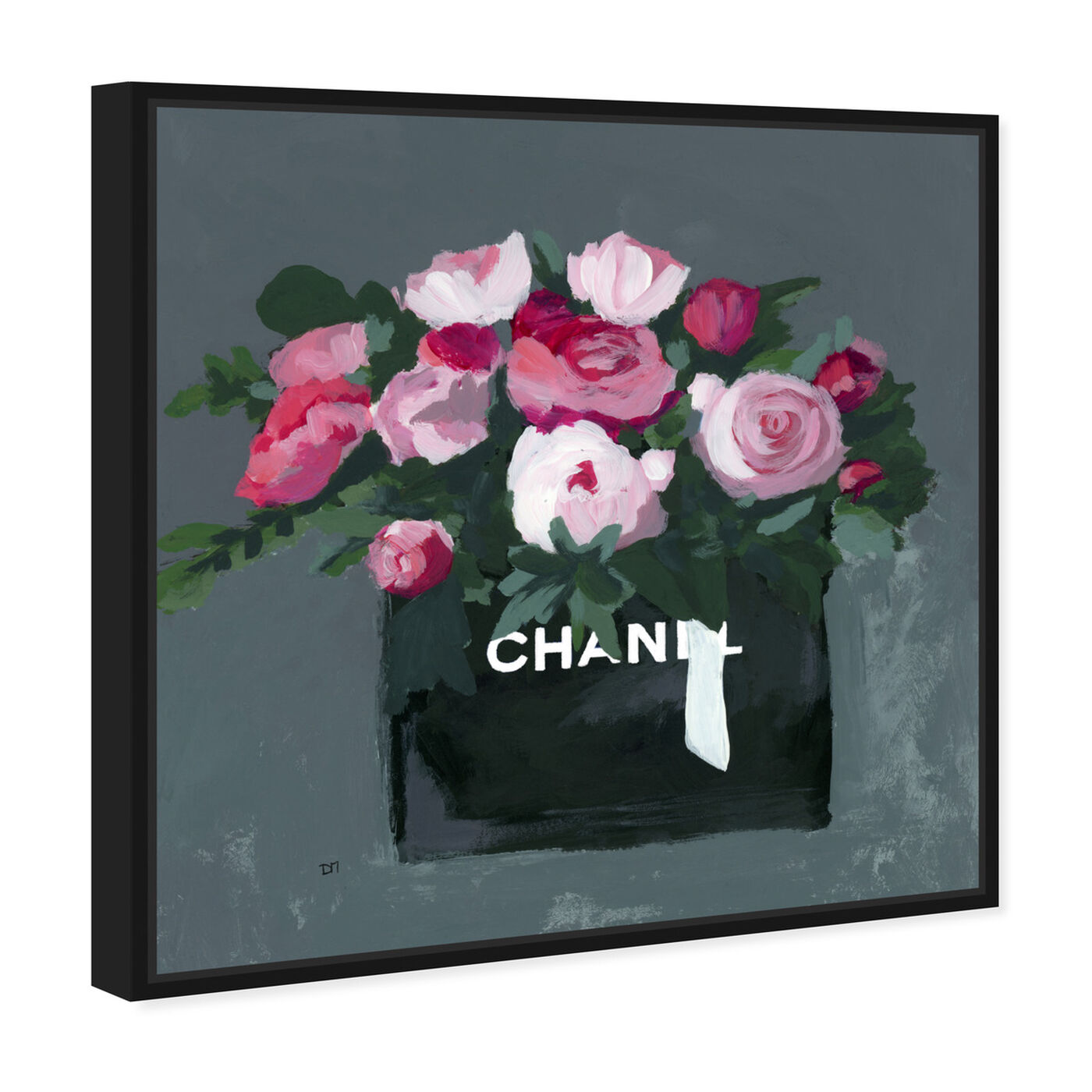 Angled view of Pink Bouquet featuring fashion and glam and lifestyle art.