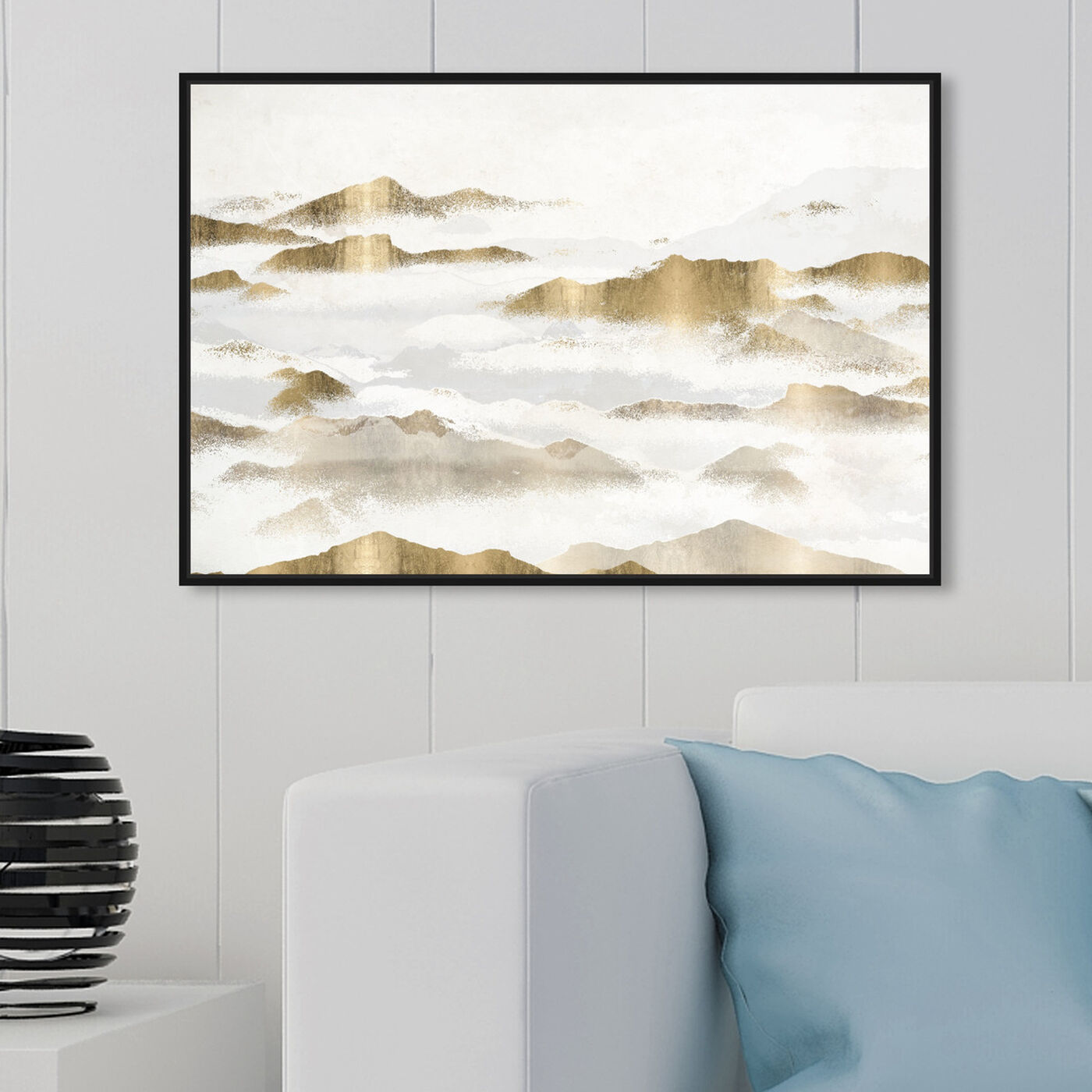 Hanging view of Mountain of the Soul featuring nature and landscape and mountains art.