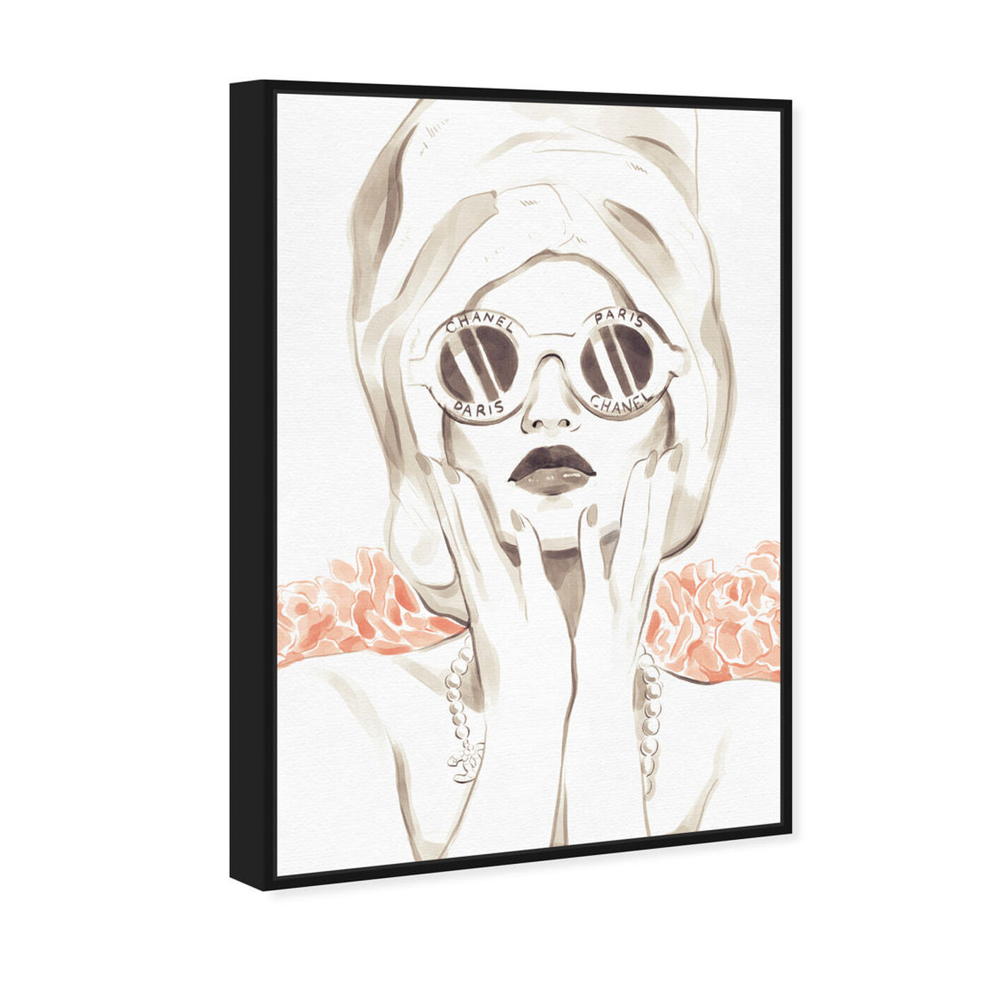 Angled view of Bath Bomb Beauty featuring fashion and glam and portraits art.