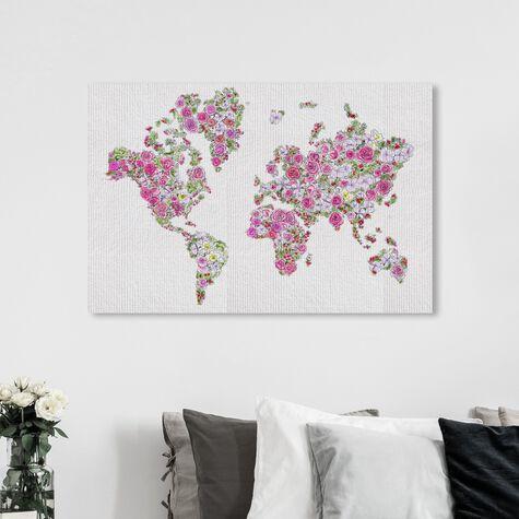Mapamundi Roses
