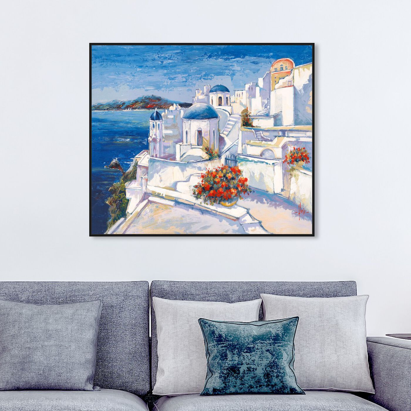Hanging view of Sai - Oppidum Laetus II 3LR2548 featuring world and countries and european countries art.