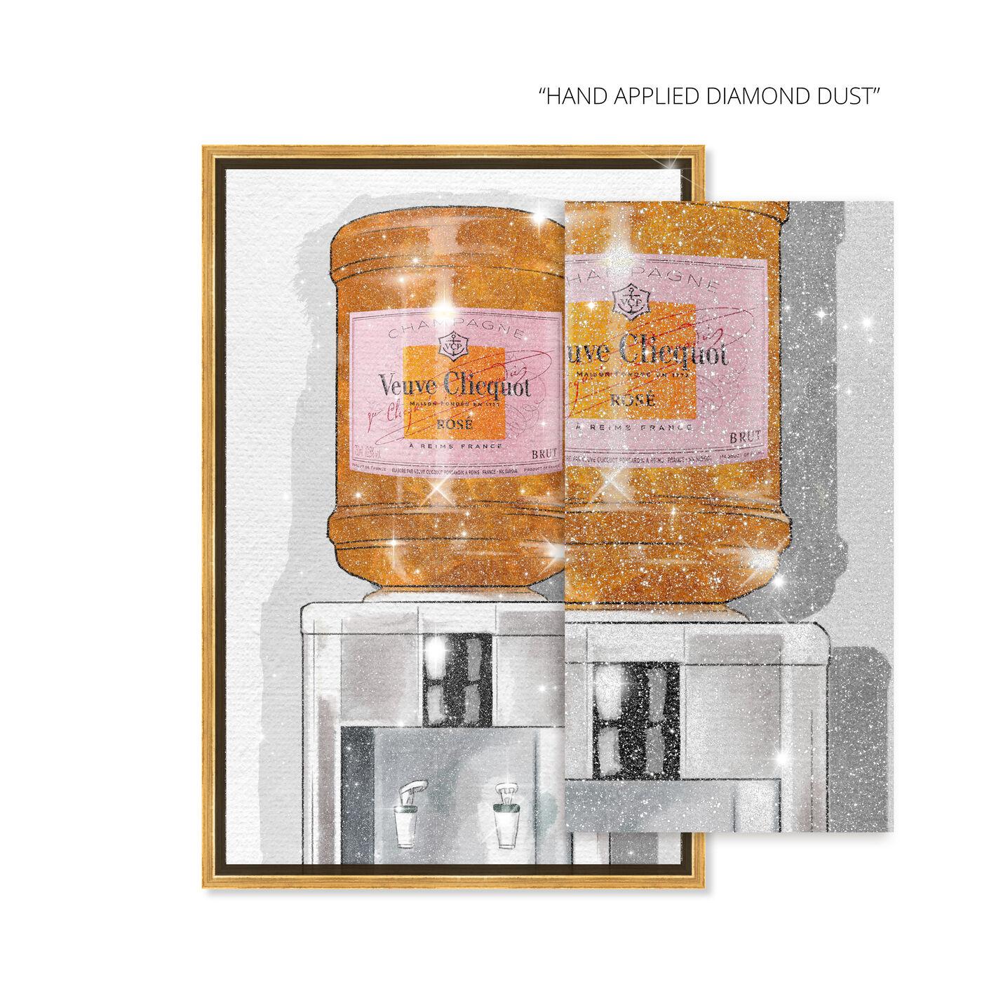Parisian Orange Champagne Watercooler