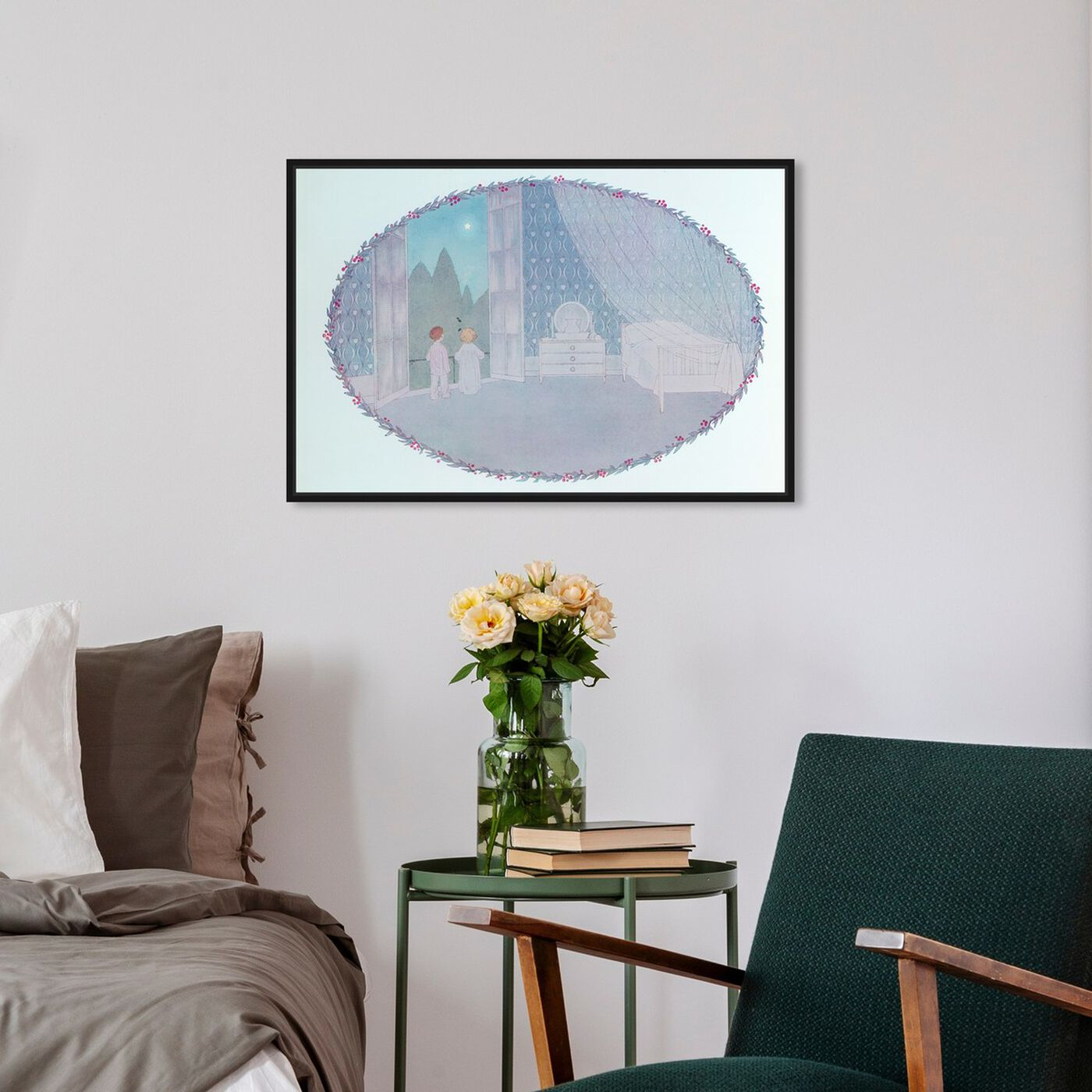 Hanging view of Twinkle Twinkle Little Star featuring nature and landscape and skyscapes art.