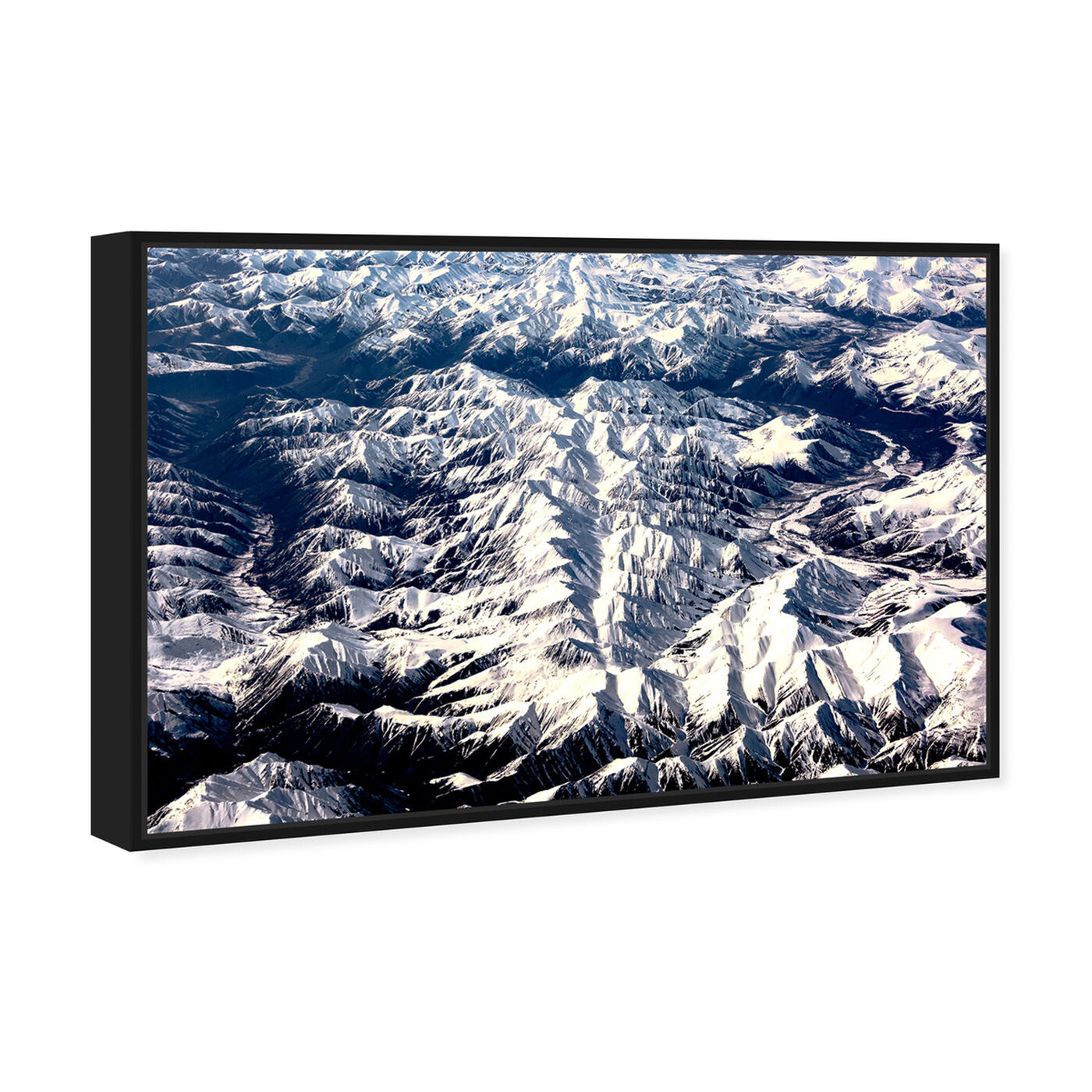 Angled view of Curro Cardenal - Aero View III featuring nature and landscape and mountains art.