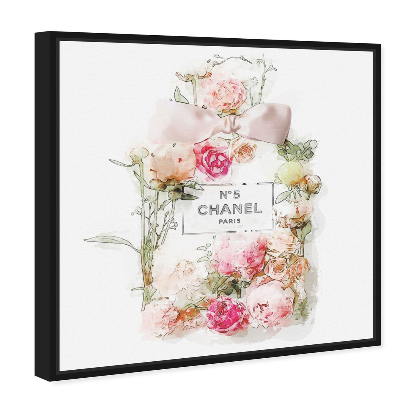 Angled view of Blooming Perfume featuring fashion and glam and perfumes art.
