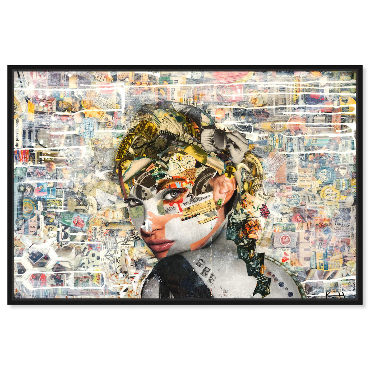 Front view of Katy Hirschfeld - Eyes For You featuring fashion and glam and portraits art.