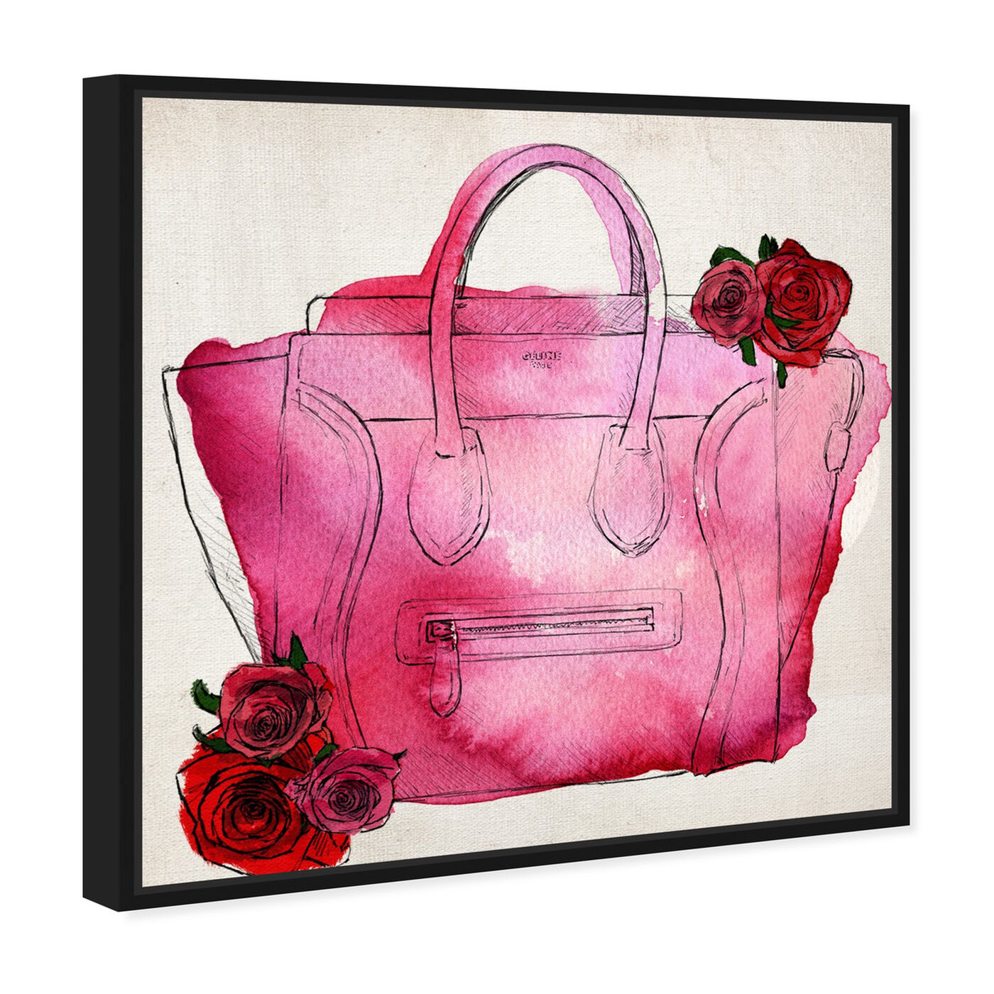 Angled view of Spoil Me Please! featuring fashion and glam and handbags art.