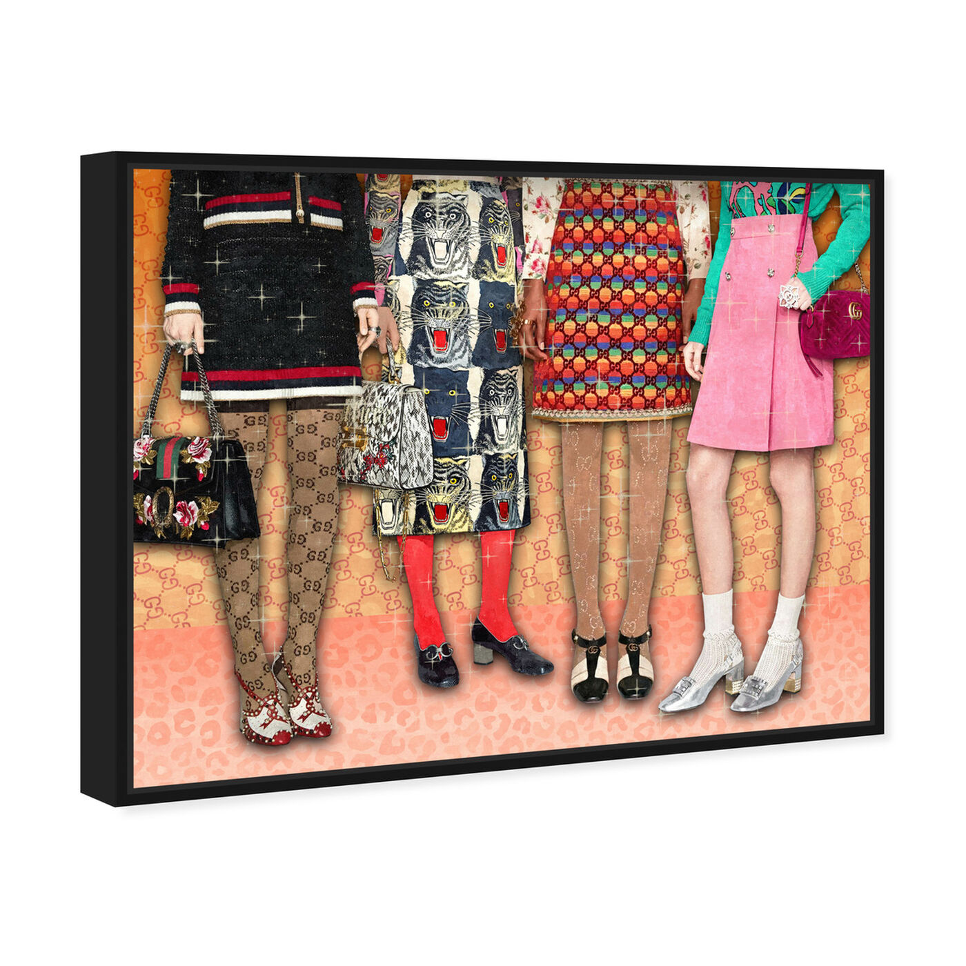 Angled view of Prints for Days featuring fashion and glam and runway art.