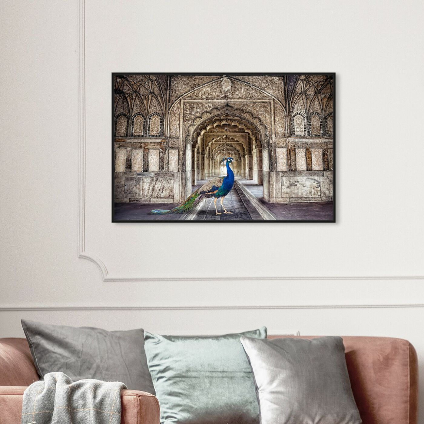 Hanging view of King of the Palace featuring architecture and buildings and structures art.