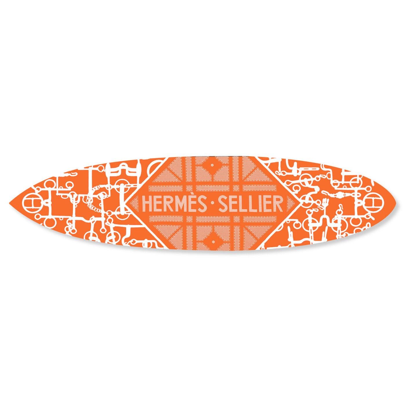 Le Luxe Surfboard Orange