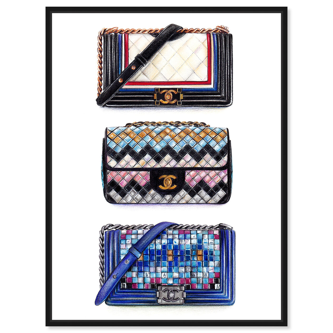 Front view of Doll Memories - Le Resort Collection featuring fashion and glam and handbags art.