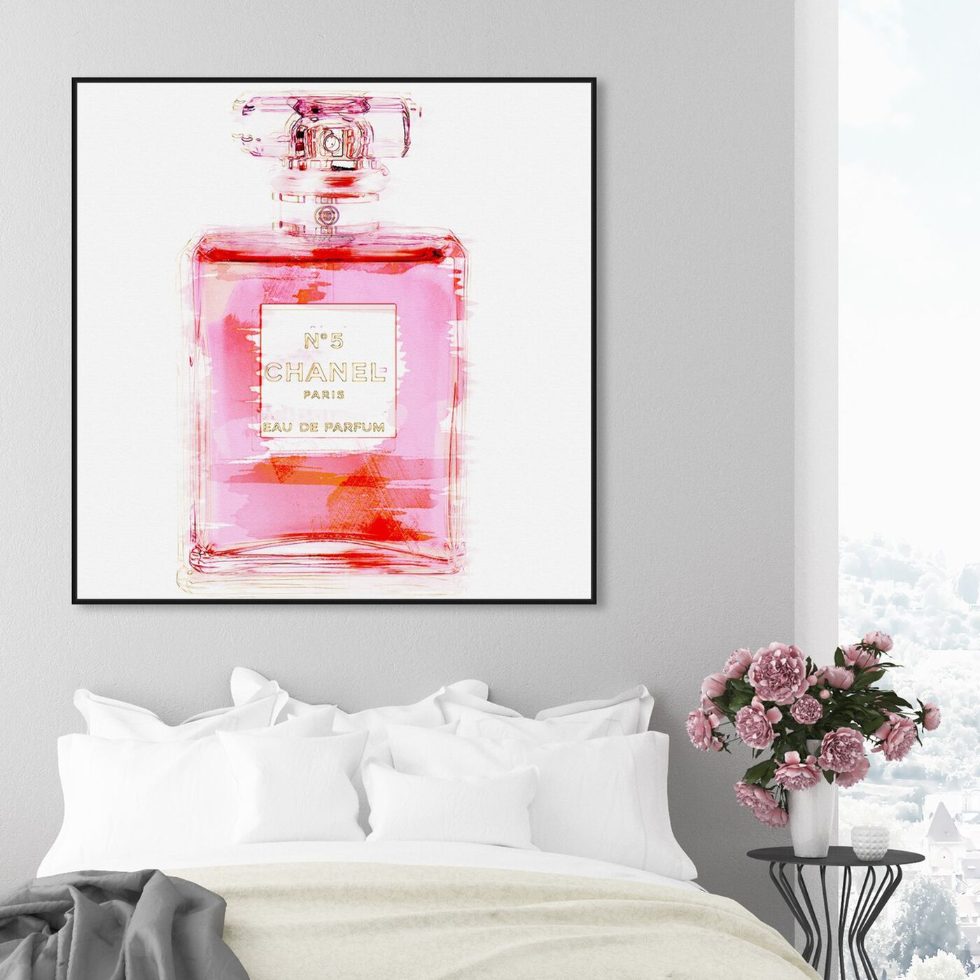 Hanging view of Basenote is Love featuring fashion and glam and perfumes art.