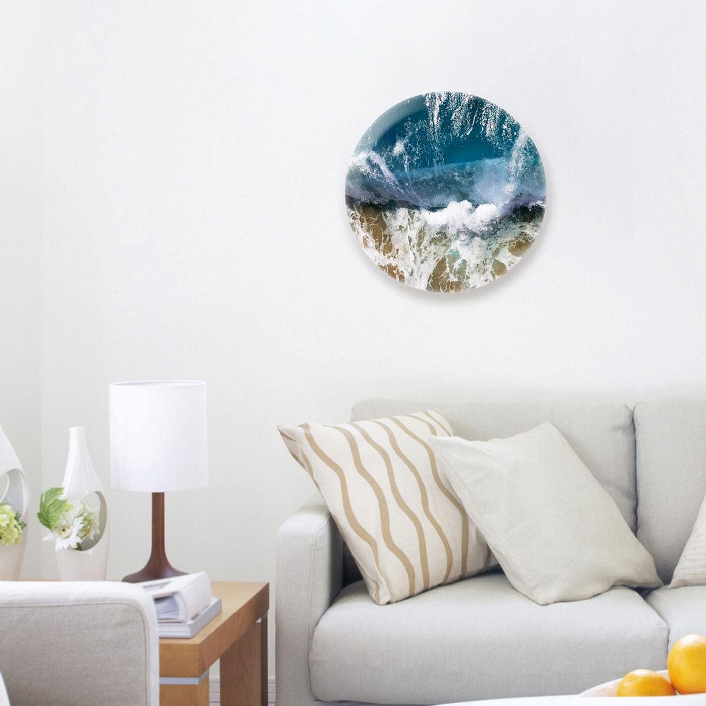 Hanging view of Sea Life II featuring nautical and coastal and coastal art.