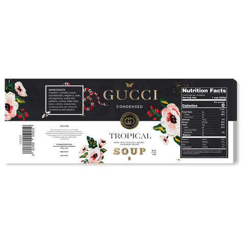 G Fashion Soup Label