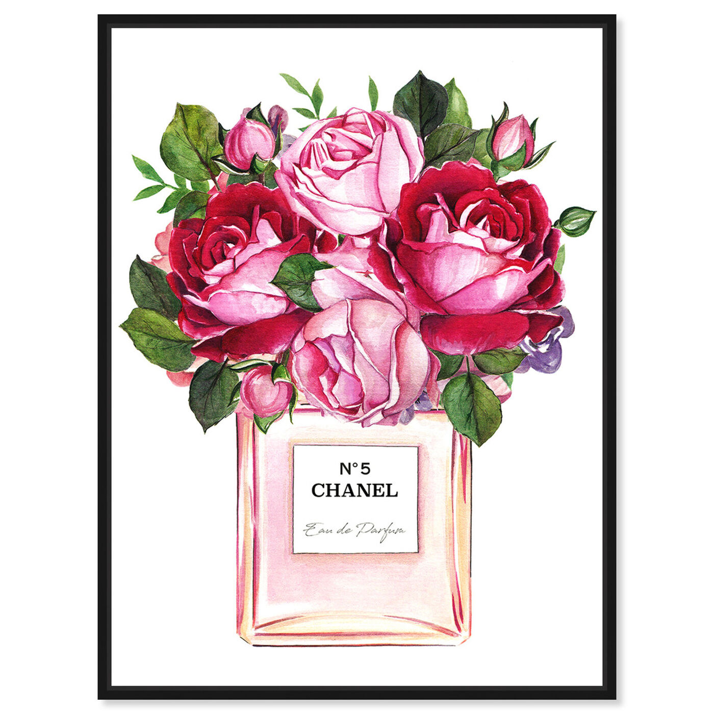 Front view of Doll Memories - Roses Scent featuring fashion and glam and perfumes art.