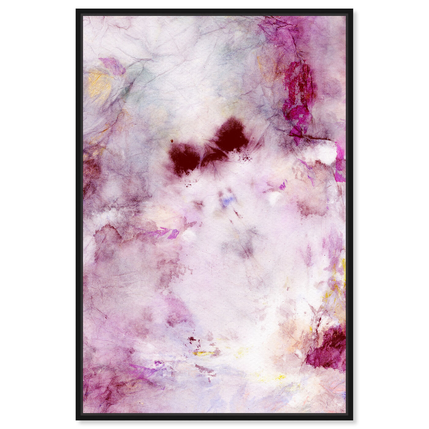Front view of Tie Dye Beauty featuring abstract and textures art.